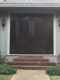 Custom Iron door 1