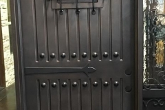 Speakeasy Iron Door