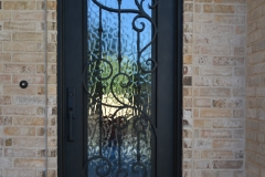 Single Iron Door