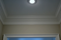 "HCW7 7"" Crown Molding with Crown Enhancer"