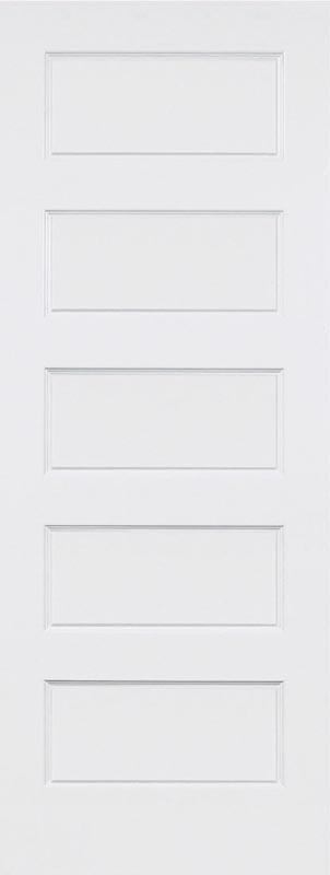5 panel shaker recessed panel